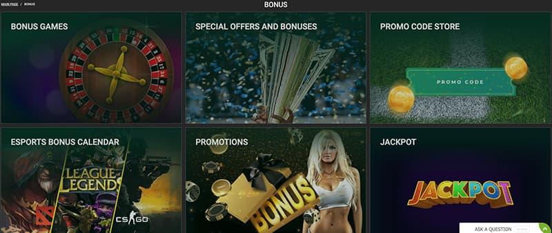 betwinner casino games screenshot