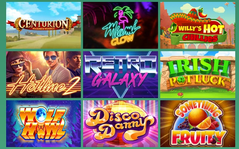 touch mobile casino games