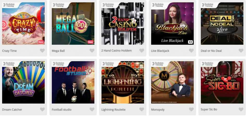 screenshot casimba games