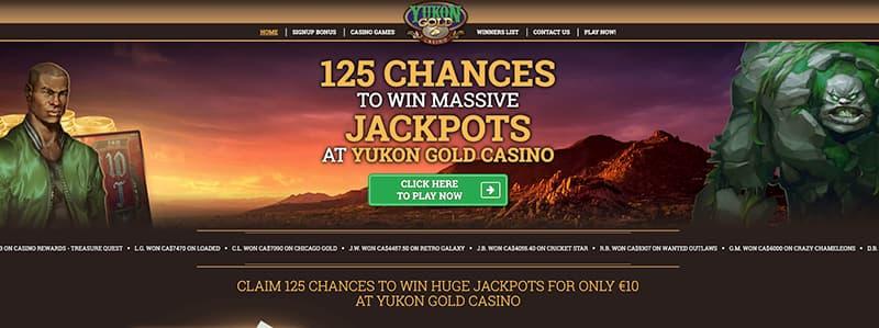 yukon gold casino live screenshot