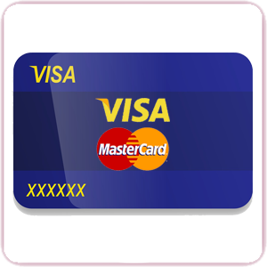 visa mastercard pay method